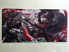Attack on Titan YGO VG Mat Game Mouse Pad Custom Playmat Free Shipping #32