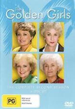 THE GODLEN GIRLS (COMPLETE SEASON 2 - DVD SET SEALED + FREE POST)