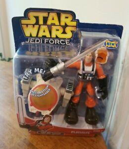Star Wars LUKE SKYWALKER Jedi Force - Hasbro 2004 Playskool NEW in PKG.
