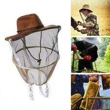 Beekeeping Beekeepers Cowboy Hat Mosquito Bee Insect Net Veil Face Head