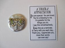 b You're perfect just as you are TOKENS OF APPRECIATION Pocket charm token