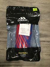 Adidas Football Soccer X Lesto Lightweight Shin Guards - Blue / Red - S Small