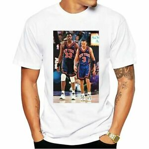 John Starks New York Knicks NBA Basketball 2021 Unisex T-shirt White Cotton Tee