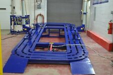 20 Feet Long Auto Body Frame Machine 20 Tons 2 Towers With Tools And Cart
