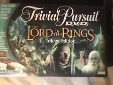 Trivial Pursuit DVD The Lord Of The Rings Trilogy Edition Factory Sealed