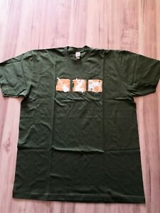 F6 Zigaretten Werbung T-Shirt grün Gr.XL