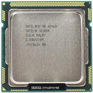 Intel Xeon X3460 2.8GHz 4 Core 8 Thread 8M LGA 1156 CPU Better than i7 880 870