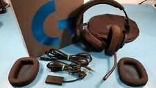 Logitech G433 Wired Gaming Headset with Microphone - Black