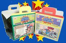 Burger King Kids Super Powers Meal Pack 2 pack boxes Batman Superman Robin