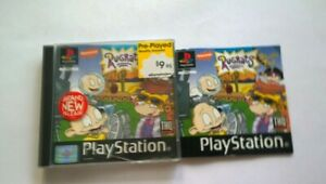 SONY PLAYSTATION 1  PS1 RUGRATS STUDIO TOUR FREE POSTAGE