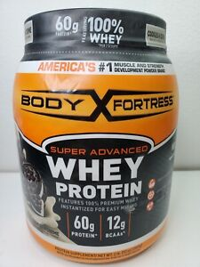 Body Fortress Super Advanced Whey Protein Powder Cookies N' Cream 2 Pound Pack