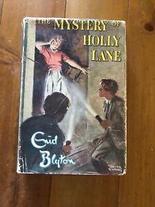 Enid Blyton The Mystery Of Holly Lane 1960 Hc Dj