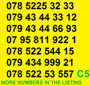 New EE GOLD VIP BUSINESS EASY MOBILE PHONE NUMBER SIM CARD Vodafone ee O2 UKgift