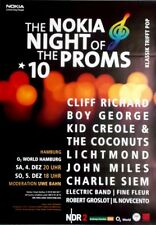 NIGHT OF THE PROMS - 2010 - Konzertplakat - Cliff Richard - Boy George - Miles