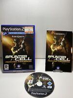 Splinter Cell: Pandora Tomorrow (Sony PlayStation 2, 2004) Ps2 Game