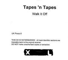 (EI153) Tapes N Tapes, Walk It Off - DJ CD