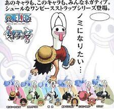 Set of 6 pcs. Bandai one Piece strap figure