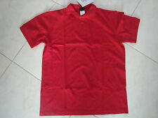 New Mens Cherokee Workwear Polo Shirt Red Small