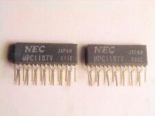 "UPC1187V  ""Original"" NEC  15P ZIP IC  2 pcs"