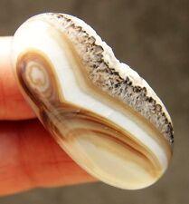 Jewelry NATURAL Geode CRYSTAL QUARTZ CAB Gem