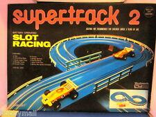 1970's Playart Super Track 2 Slot Racing Goodyear Indy Cars