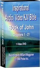 07 Inspirational Audio/Video KJV Bible Book of John DVD