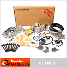 93-97 Mitsubishi Expo Galant Eclipse Colt 2.4L Master Overhaul Engine Kit 4G64