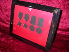 WW2 Medal Frame-Two WW2 Stars Defence & War Medals