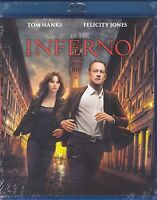 Blu-ray **INFERNO** con Tom Hanks nuovo 2016