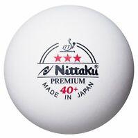 Nittaku NB1300 3-Star Premium 40+ Table Tennis Ball Plastic Ball 3 Pieces Japan