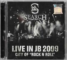 SEARCH Live In JB 2009 City of Rock N Roll 2CD New