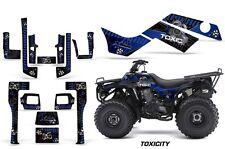 ATV Graphics Kit Quad Decal Sticker Wrap For Kawasaki Bayou 250 03-11 TOXIC U K