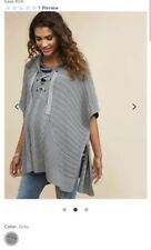 Motherhood Maternity Poncho Sweater