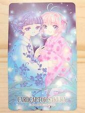 RARE CLAMP CARDCAPTOR SAKURA Phone card Japan Anime/828
