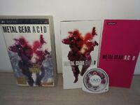 Sony PSP Metal Gear Acid Game Complete w/ manual Sony PlayStation Portable CiB