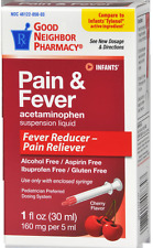 GNP Infants Pain and Fever Drops Acetaminophen Oral suspension Cherry 1 oz