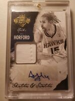 2014-15 Panini Court Kings Sketches & Swatches Al Horford #1 02/35