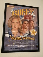 Buffy The Vampire Slayer 2002 Upn Once More With Feeling Album Poster! Rare!
