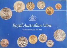 1984 Australia Uncirculated UNC Coin Set - Royal Australian Mint