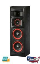 "3 Way Subwoofer Cerwin Vega XLS-28 Dual 8"" Floor Standing Tower Speakers Black"