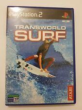 TRANSWORLD SURF PlayStation 2 ps2 pal España y completo