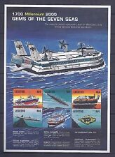 Lesatho 1999, U-Boote, Submarine, Schiffe, KB 1597 - 1602, 1606 (Block 159) **