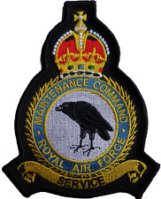 RAF Maintenance Command Royal Air Force MOD Crest Embroidered Patch
