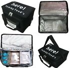 """Heavy Duty Food Delivery Takeway Bag 15x13x11""""Inc Kebab Indian Chinese Fishchips"""