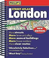 Philip's Street Atlas London: Mini Paperback Edition by Octopus Publishing Group (Spiral bound, 2017)