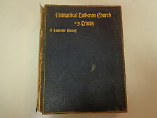 Evangelical Lutheran Church of the Trinity 1895 Souvenir History Norristown, PA