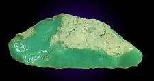 85 GRAMS AAA QUALITY APPLE GREEN ROUGH CHRYSOPRASE MARLBOROUGH QLD AUSTRALIA 26