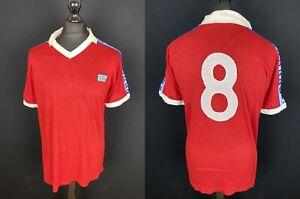 Vintage 80's NR Acrylic Football Shirt Men's Size L Maglia Calcio Soccer Jersey
