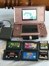 Nintendo Ds Lite Metallic Rose Dragon Ball Z Mario & Donkey Kong Sonic Metroid