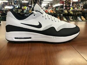 Nike Air Max 1 G Golf Shoes Spikeless White Black Red Men's Sizes CI7576-100